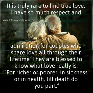 quitters only quit because it wasn't true love. No one in True love ...