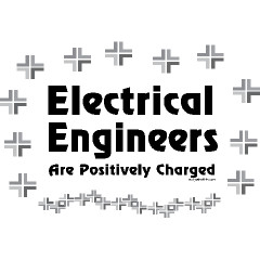 Home : Electrical Engineer : Positively Charged Custom T-Shirts