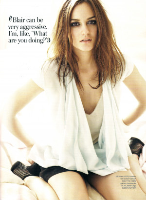 ... Girl Instyle UK March 2010 : Leighton Meester [Magazine scan HQ