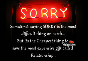 saying SORRY is the most Etiquette Friday Why is it so Hard to say ...