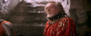 Patrick McGoohan as Longshanks, King Edward I in Braveheart (1995)