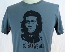 Commander Adama, So Say We All Men& #39;s Gray Tshirt ...
