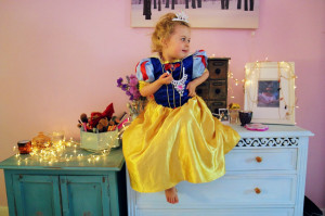 She wants to dress as them, twirl as them, be like them and over and ...