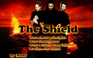 "Wwe The Shield ""righting Wrongs"" Wallpaper Picture"