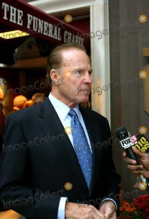 Wellington Mara the Owner of the New York Giants Wake at Frank E