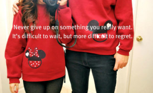 ... It's Difficult To Wait But More Difficult To Regret - Regret Quote