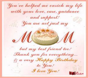 Birthday Wishing Mom Facebook