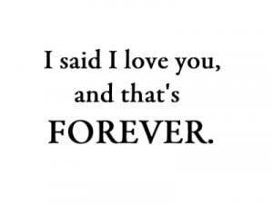 ... you # forever # always # you and me # i ll never stop loving you