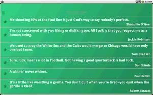 Athletes Quotes - screenshot thumbnail