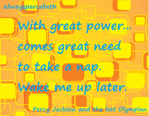 Percy Jackson Funny Quotes