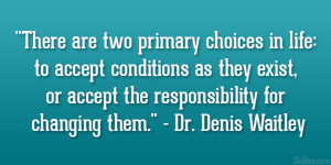 Quotes from Denis Waitley