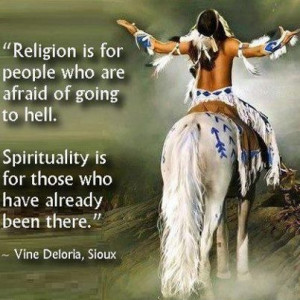 What do the native American quotes and wisdom express?