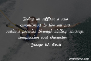 compassion-Today we affirm a new commitment to live out our nation's ...