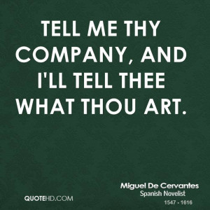 Miguel De Cervantes Art Quotes