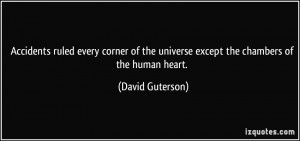 More David Guterson Quotes