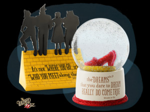 Many of the gifts in THE WIZARD OF OZ™ collection include special ...