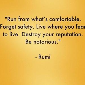Leadership quotes, sayings, rumi