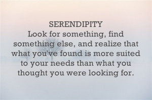 Have you had a serendipitous moment lately? >>> www.purposefairy.com ...