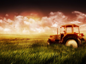 Farm Field And Tractor Wallpaper Selected Photos Wallpapers
