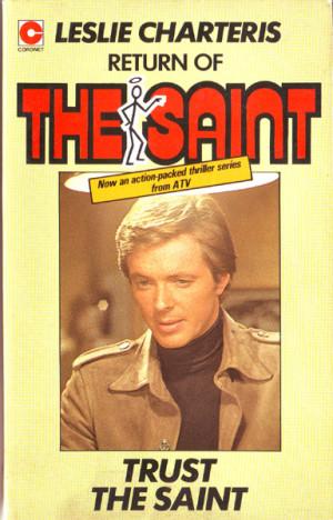 leslie charteris trust the saint coronet 1978 originally hodder 1962