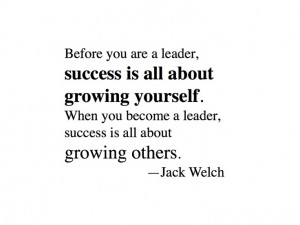 Jack Welch #inspirational #quote on leadership