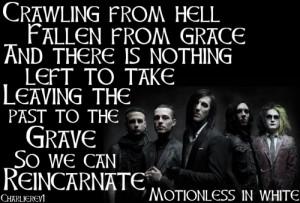 Reincarnate By Motionless In White Lyrics