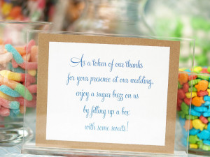 Displaying 18> Images For - Wedding Candy Bar Sayings...