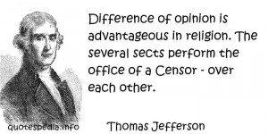 reflections aphorisms - Quotes About Religion - Difference of opinion ...