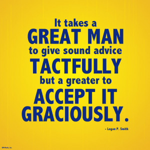 Quote - Sound Advice, Accept Graciously by rabidbribri