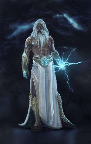 Zeus Jupiter Greek God Art...