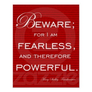 am Fearless Poster