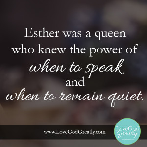 Queen Esther Quotes