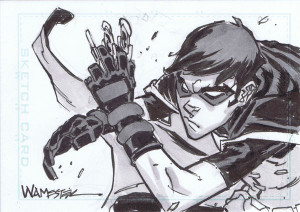 Robin Young Justice Sketch