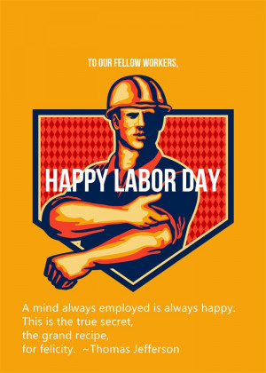 Famous Quotes On Happy Labor Day 2015