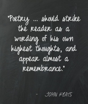 John Keats Love Quotes | JOHN KEATS