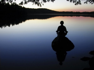 believe that one of the biggest obstacles to people meditating are ...