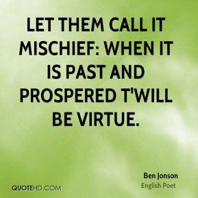 Mischief Quotes