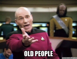 Generate a meme using Annoyed Picard