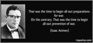 More Isaac Asimov Quotes
