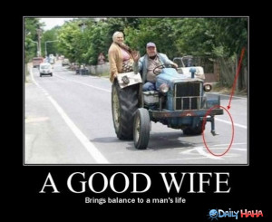 good wife...