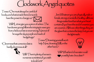 Clockwork angel quotes by better2byourself