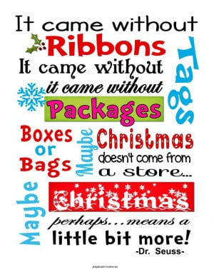 Christmas Tree Quotes From The Grinch