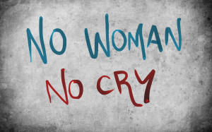 No Women No Cry Quotes Wallpaper HD (Widescreen, 1080p Background)