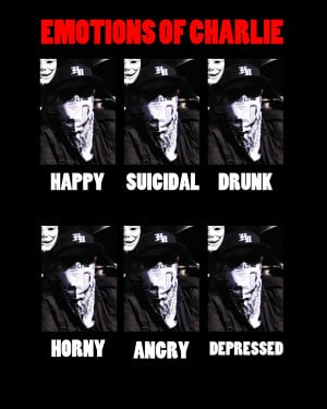 Hollywood Undead Charlie Scene Quotes Emotions of charlie scene by