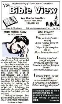Religious Quotations For Church Bulletins