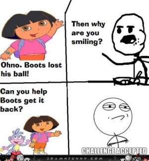 funny dora jokes