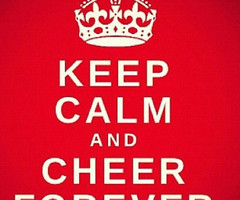 Keep Calm Cheerleading Quotes