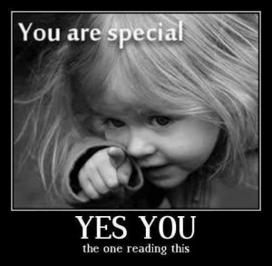 You are specialYes you, the one reading this Friendship Cute Quote