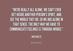 All Alone Quotes Preview quote