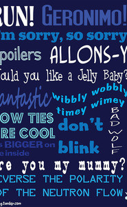 Memorable Doctor Who Quotes